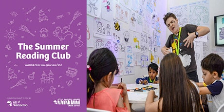 The Summer Reading Club - Design a Character with Aśka @ Girrawheen Library tickets