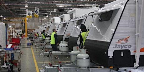 Jobs in the Caravan Industry tickets