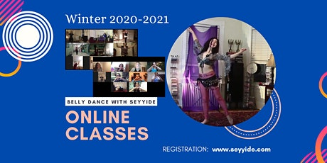 ONLINE Belly Dance Classes (Beginners) tickets