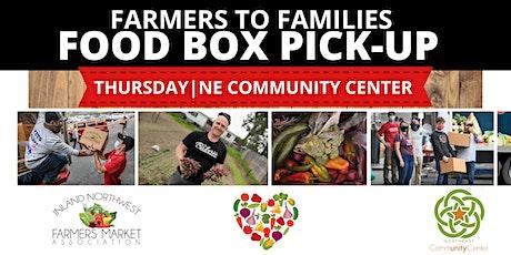 INWFMA| Northeast Community Center Thursday Free Food Box Pick up tickets