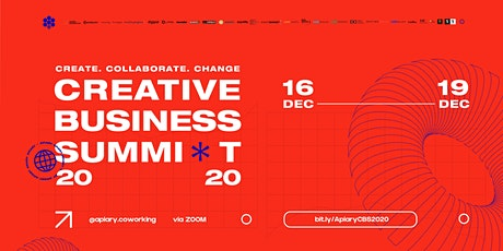 Creative Business Summit - Day 1 & 2 tickets
