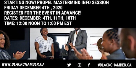 Propel Mastermind Info Session tickets