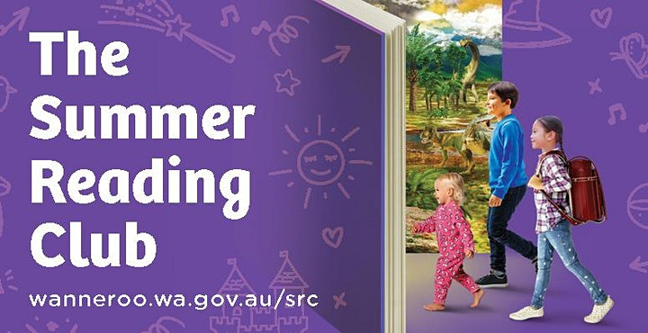 The Summer Reading Club - Summer Grooving @ Girrawheen image