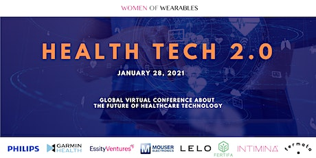 HEALTH TECH 2.0 - virtual conference about the future of health technology tickets