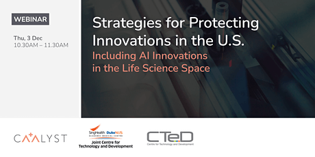 Strategies for Protecting Innovations in the U.S. Tickets