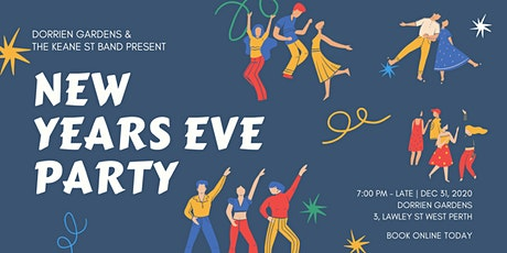New Years Eve at Dorrien Gardens with KSB! tickets