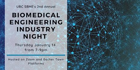 UBC SBME's Biomedical Engineering Industry Night tickets