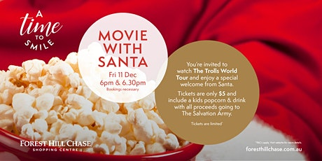 Movie with Santa (Session 2) tickets