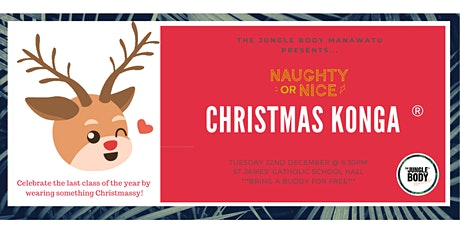 CHRISTMAS KONGA® by The Jungle Body Manawatū tickets