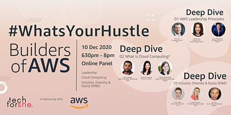 #WhatsYourHustle: Builders of AWS tickets
