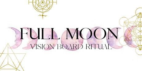 January 2021 Full Moon Vision Board Ritual tickets