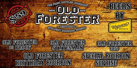 Whisky Rowwith Old Forester tickets