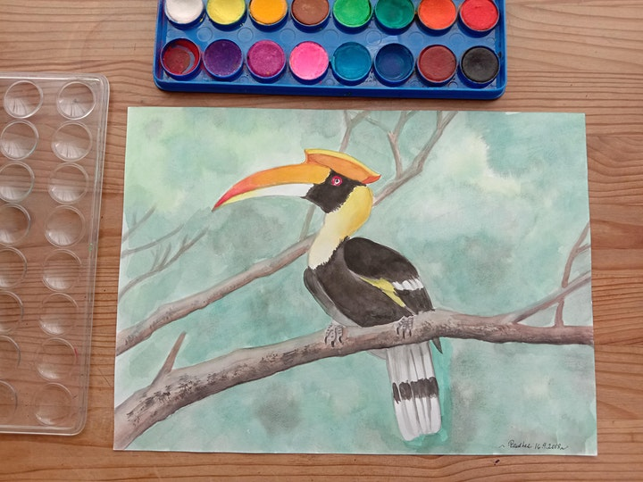 Watercolour Painting - Beginner  starts Dec 7 (8 sessions) image