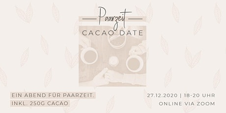 CACAO DATE - PAARZEIT Tickets