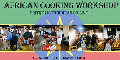 African Cooking Workshop - Eritrean/Ethiopian Cuisine- tickets