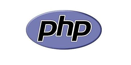 4 Weeks Only php, mysql developer Training Course Des Plaines. tickets