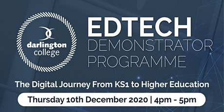 The Digital Journey From KS1 to Higher Education tickets