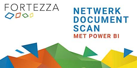 Netwerk Document Scan met Power BI tickets