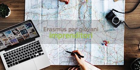 Webinar | Erasmus per Giovani Imprenditori biglietti