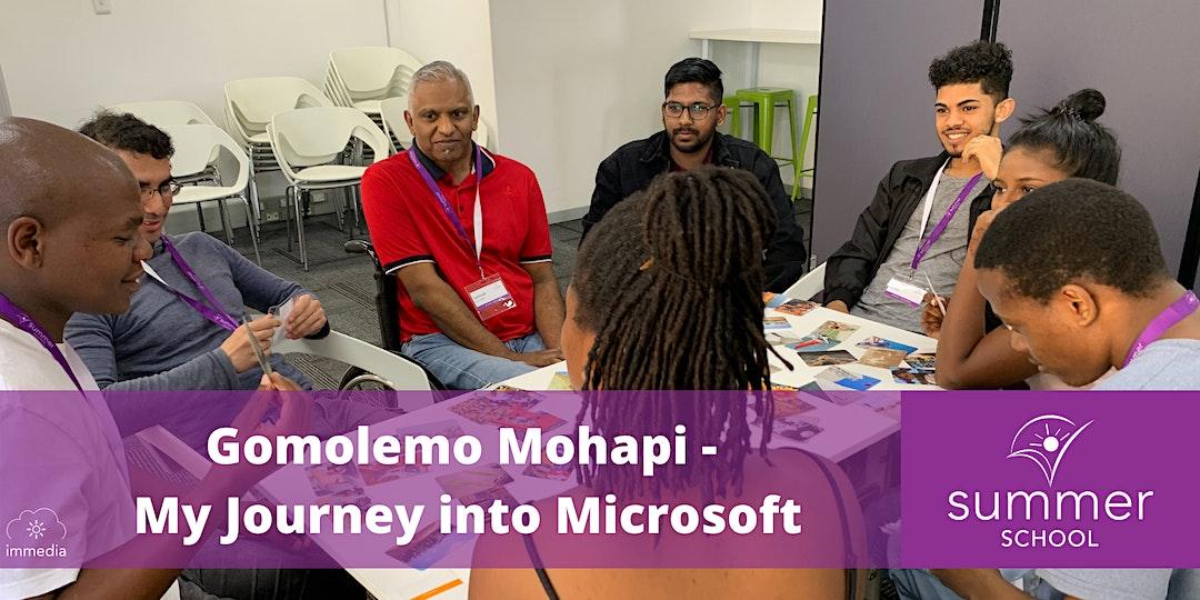 Summer School Open Night: My Journey into Microsoft