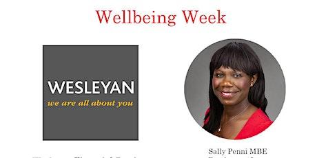 Wellbeing Week -Wesleyan tickets