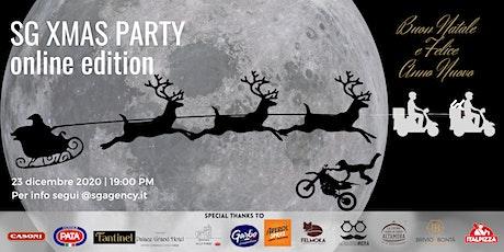 SG Xmas Party 2020 online edition biglietti
