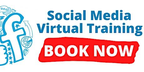 Social Media Virtual Online Training tickets