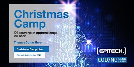 Coding Club Live - Christmas Camp billets