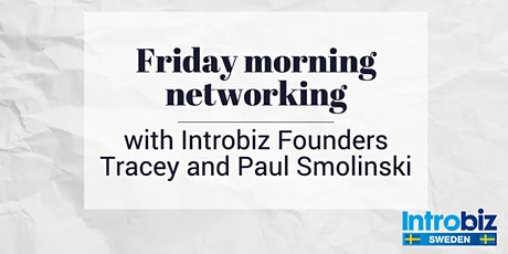 Networking with Introbiz Founders Tracey and Paul Smolinski tickets
