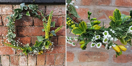 Foraged Spring Wreath - gather materials & make your own tickets