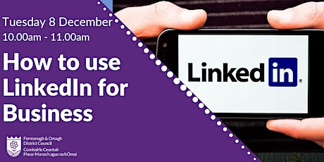 How to use LinkedIn for Business tickets