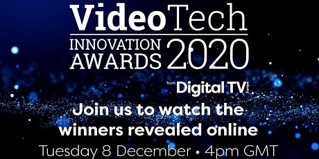 VideoTech Innovation Awards 2020 tickets