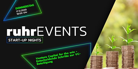 #ruhrSUN - Venture Capital for the win Tickets