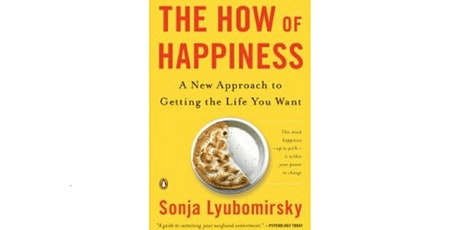 Book Review & Discussion : The How of Happiness tickets