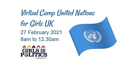 Virtual Camp United Nations for Girls UK tickets