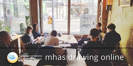 MHAS Drawing Session Online [#38 Durian] +Paris Drawing Meetup tickets