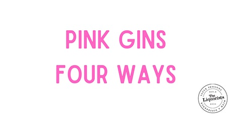Pink Gins Four Ways (Virtual E-Cruise) tickets