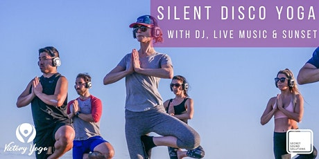 Silent Disco Yoga with DJ, Live Music and Sunset tickets