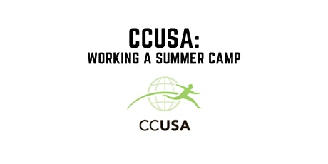 CCUSA: Working a Summer Camp tickets