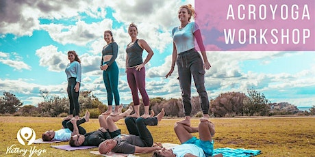 AcroYoga Workshop By The Ocean tickets