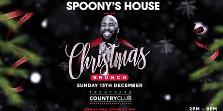 DJ Spoony Presents: The Christmas Brunch at Trent Park Country Club tickets