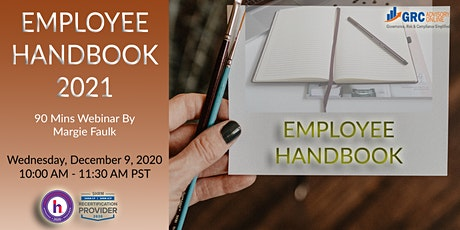 Employee Handbook 2021 tickets