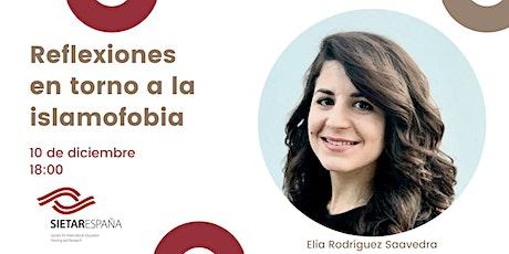 Webinar: Reflexiones en torno a la islamofobia entradas