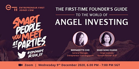 SPYMAPS   Guide to The World of Angel Investing tickets