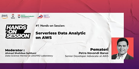 #1 Hands-On Session: Serverless Data Analytics on AWS tickets