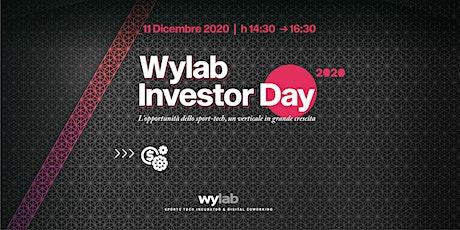 Wylab Investor Day 2020 biglietti