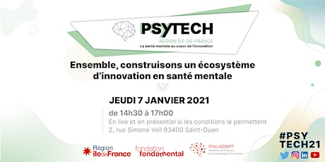 PSYTECH  2021 - L'innovation en psychiatrie billets