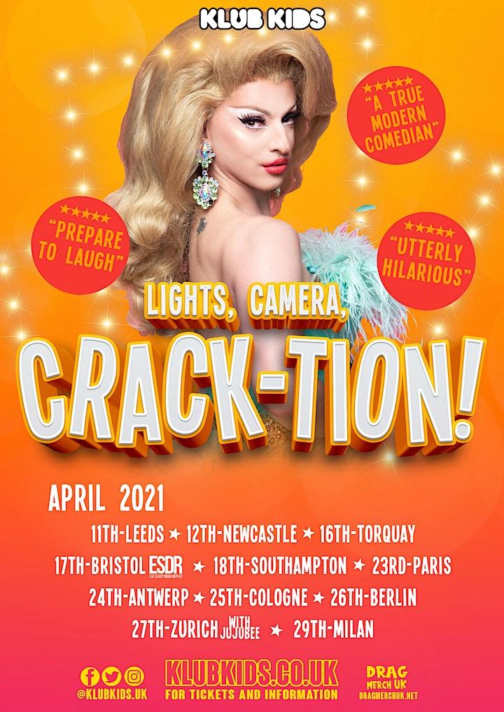 Klub Kids Paris  presents MIZ CRACKER (Crack-tion) ages 18+ image