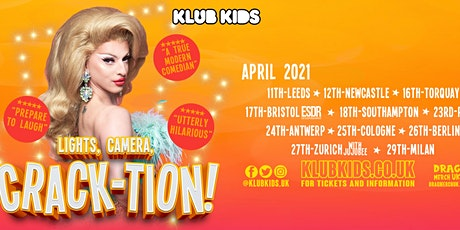 Klub Kids Antwerp  presents MIZ CRACKER (Crack-tion) ages 18+ biglietti