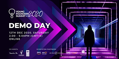 Young Founders Summit Asia 2020 Demo Day tickets